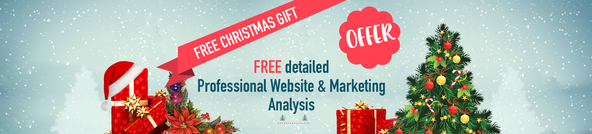 christmas website anaylsis report