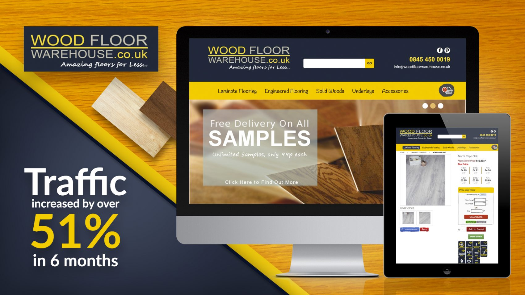 woodfloor warehouse seo dublin results