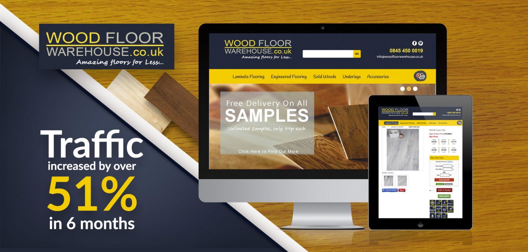 woodfloor warehouse seo company