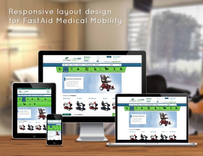 The Living Centre Northern Ireland Responsive Magento Developers