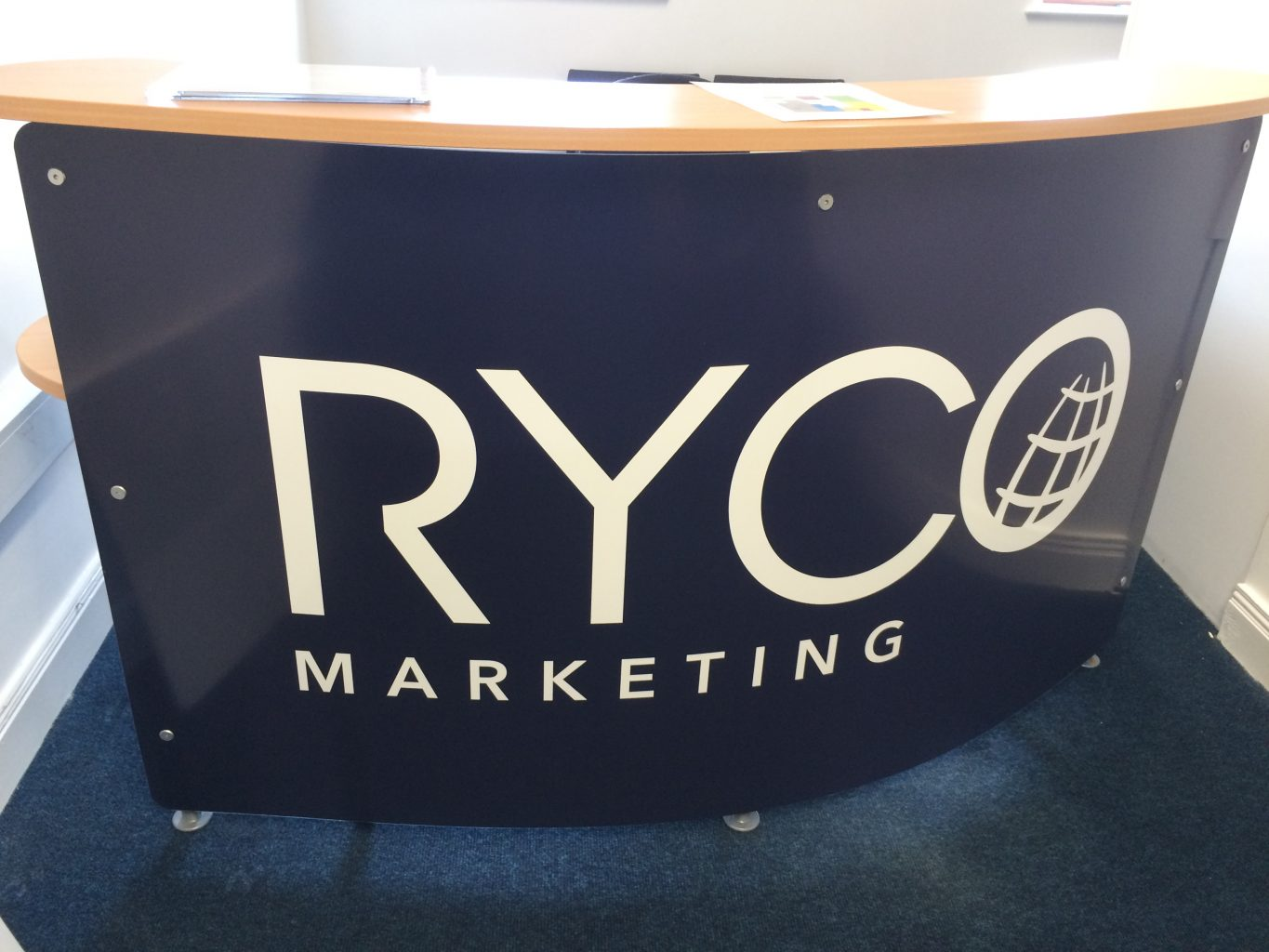 ryco marketing reception desk