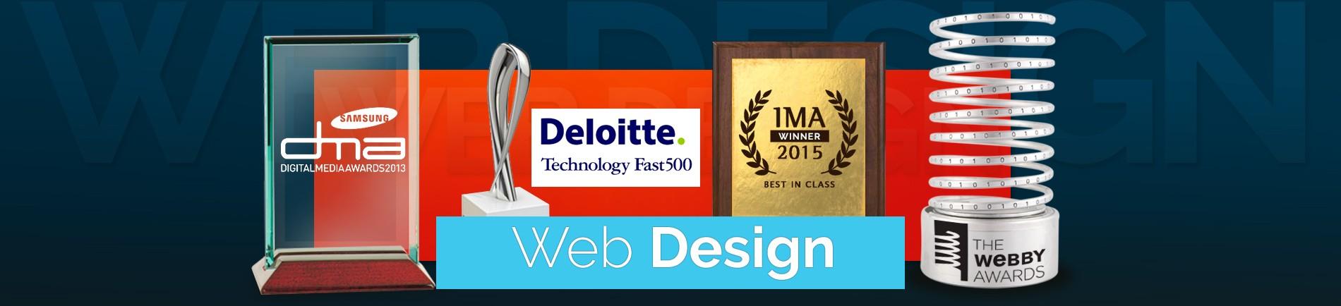 award winning agency web design belfast