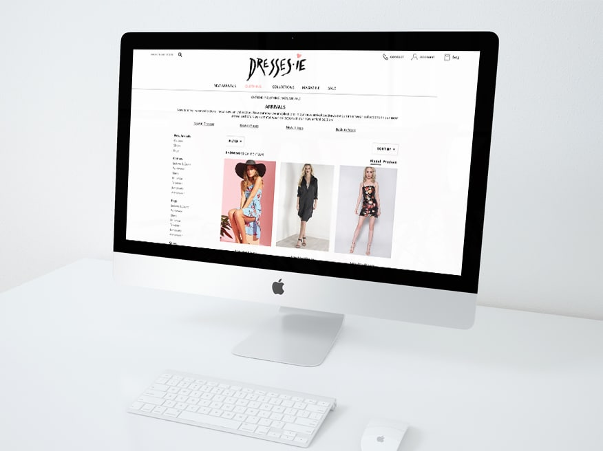 ecommerce web design agency belfast