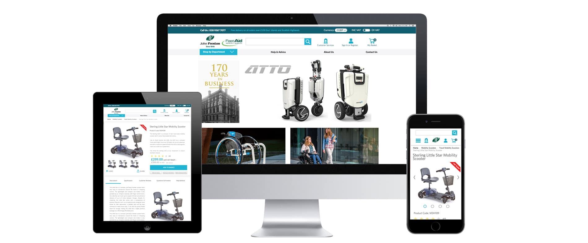 john Preston ecommerce web design ryco