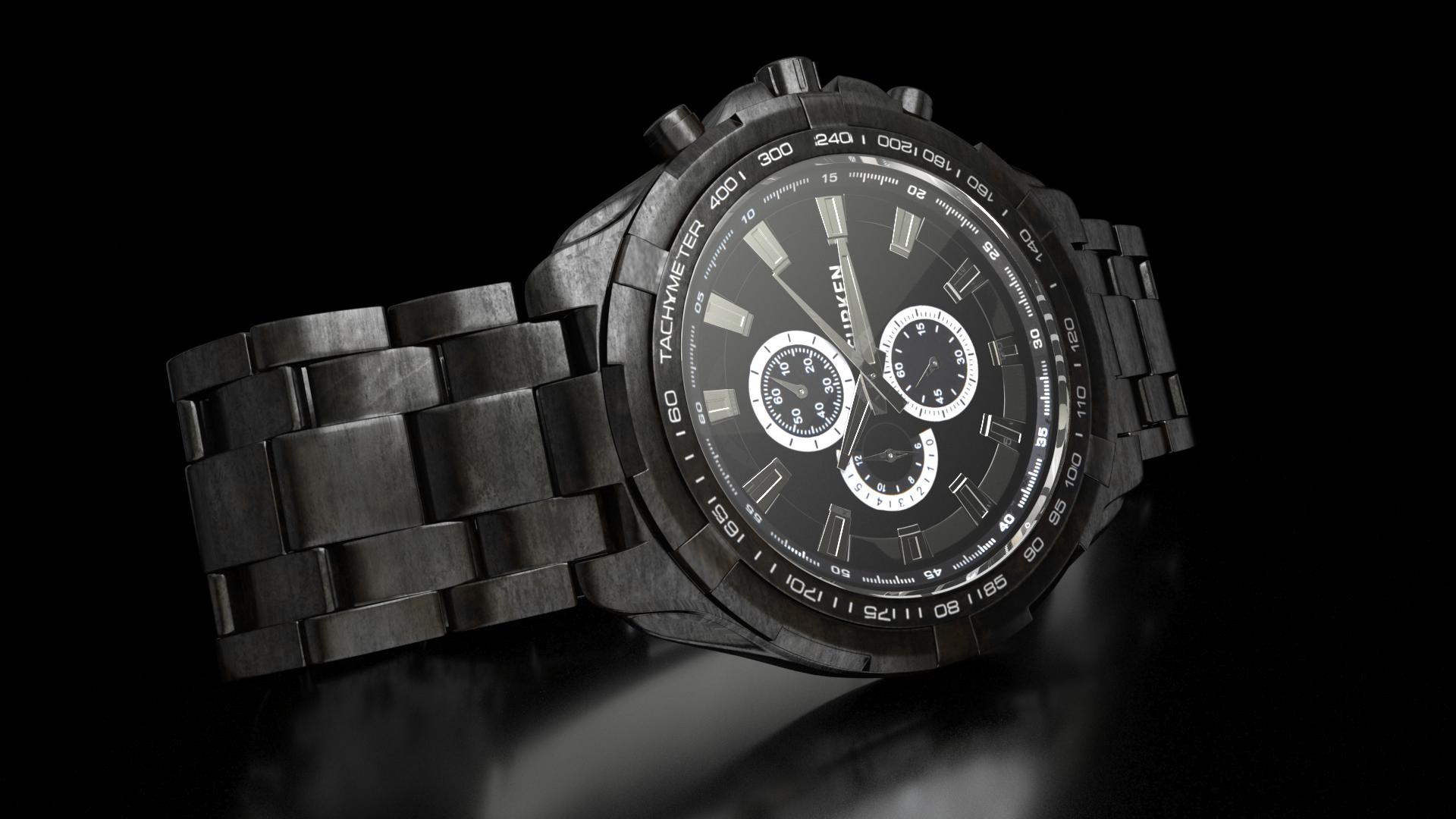 3d modelling watch