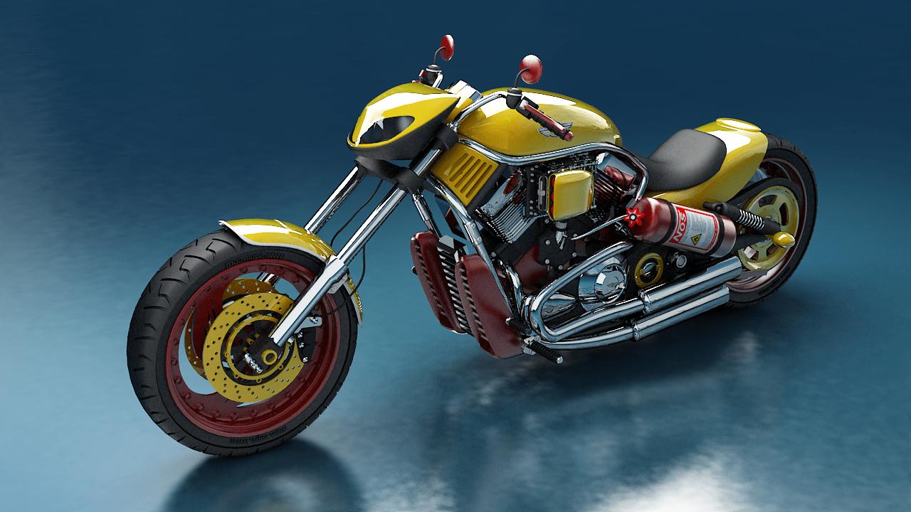 3d Harley