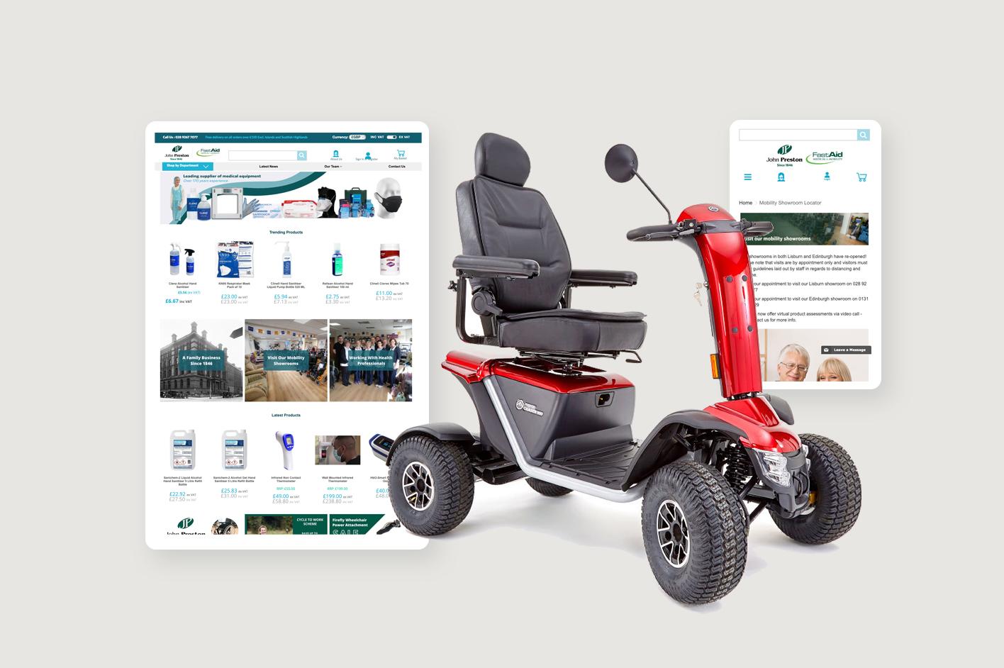 magento web design belfast